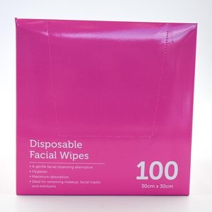 Disposable Facial Wipes 100