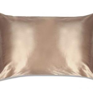 Slip Silk Pillowcase King Size Caramel