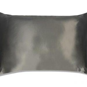 Slip Silk Pillowcase King Size Charcoal