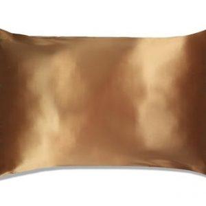Slip Silk Pillowcase Queen Size Gold