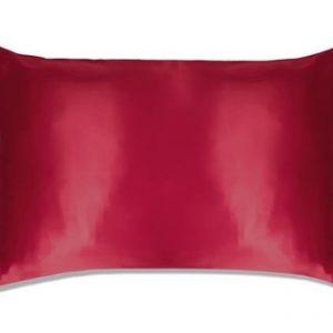 Slip Silk Pillowcase Queen Size Red