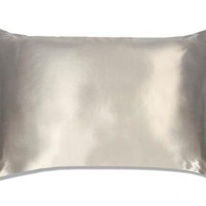 Slip Silk Pillowcase King Size Silver