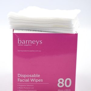 Disposable Facial Wipes 80