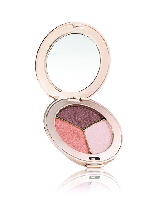 Jane Iredale Pure Pressed Eye Shadow Triple Pink Quartz Soldier