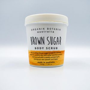 Organic Botanic Brown Sugar Body Scrub