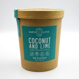 Earth Love Coconut And Lime Purifying Bath Salts