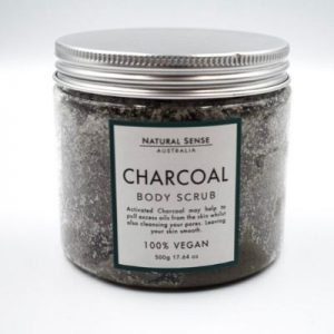 Charcoal Body Scrub 2
