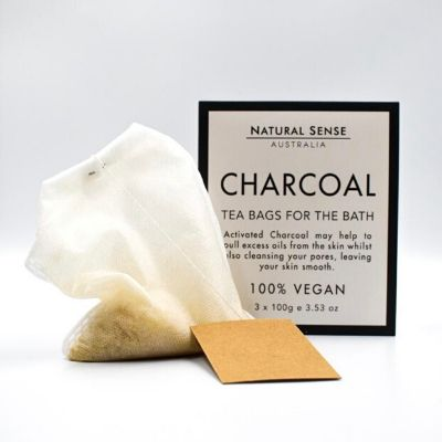 Charcoal Tea Bags For Bath