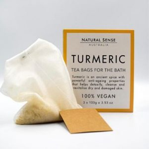 Turmeric Tea Bags For Bath