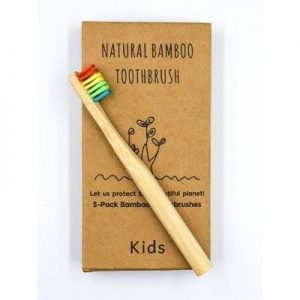 Eco Friendly Kids Bamboo Toothbrush